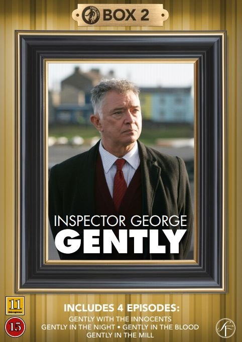 Image of   Kommissær George Gently - Box 2 - DVD - Tv-serie