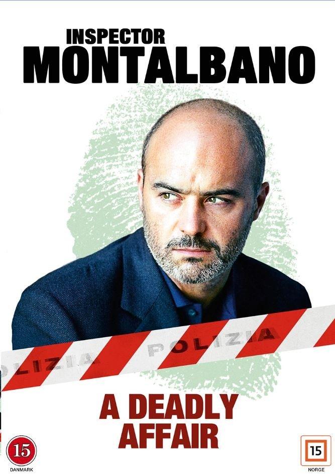 Image of   Kommissær Montalbano: A Deadly Affair - DVD - Tv-serie