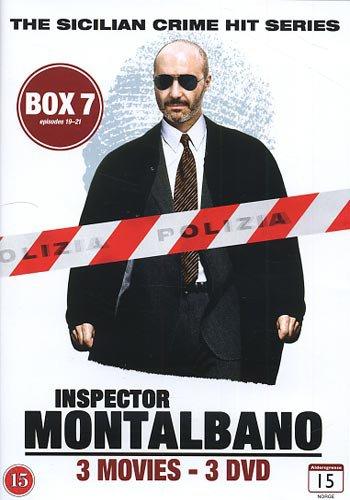 Image of   Kommissær Montalbano - Box 7 - Episode 19-21 - DVD - Tv-serie