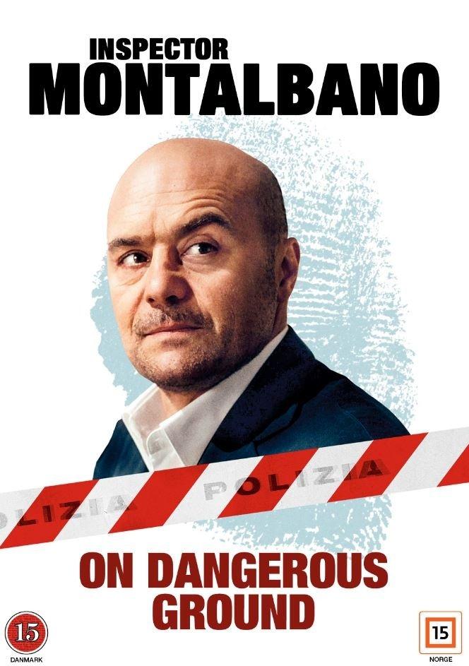 Image of   Kommissær Montalbano: On Dangerous Ground - DVD - Tv-serie