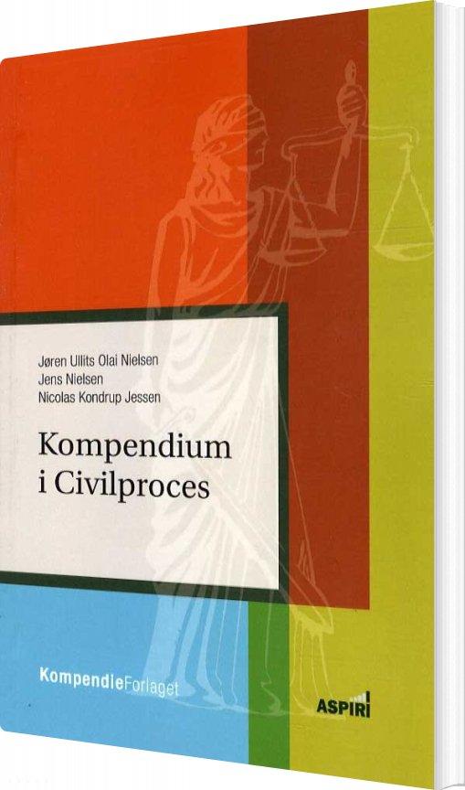 Image of   Kompendium I Civilproces - Nicolas Kondrup Jessen - Bog