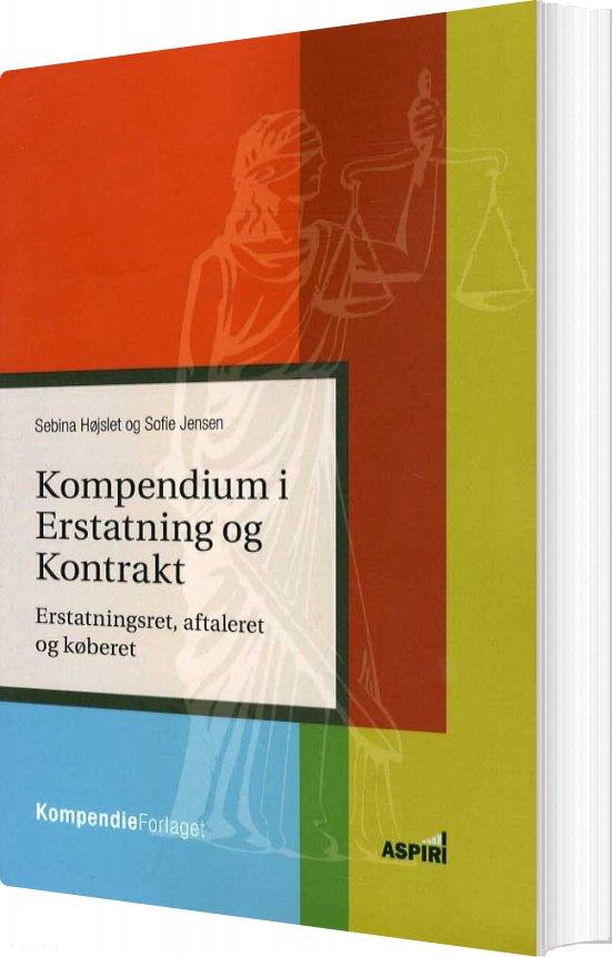 Image of   Kompendium I Erstatning Og Kontrakt - Sofie Jensen - Bog