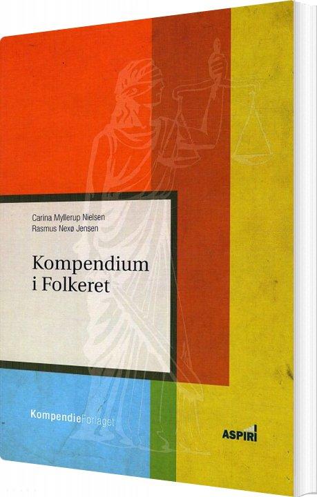 Image of   Kompendium I Folkeret - Carina Myllerup Nielsen - Bog