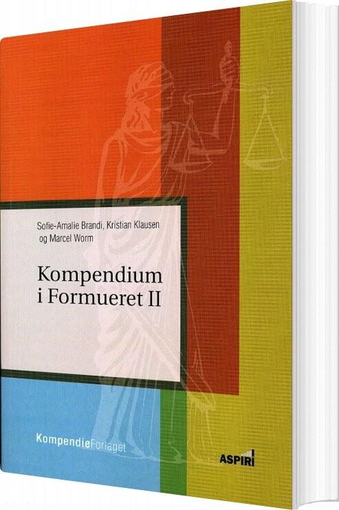 Image of   Kompendium I Formueret Ll - Sofie-amalie Brandi - Bog