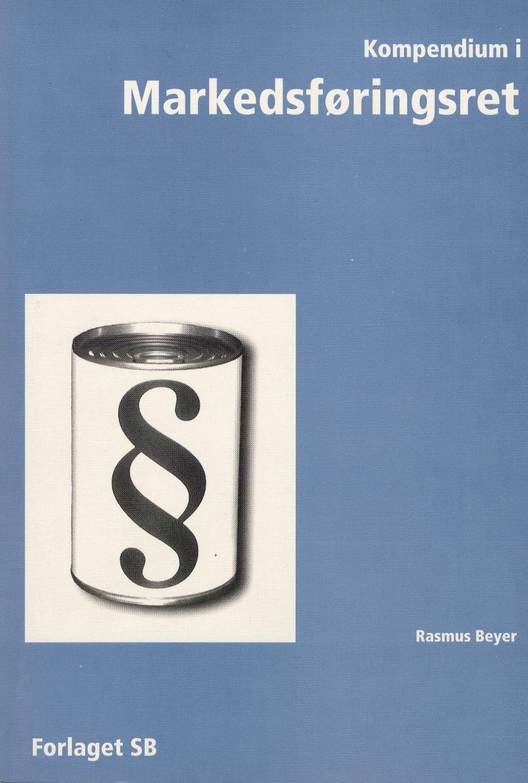 Image of   Kompendium I Markedsføringsret - Rasmus Beyer - Bog