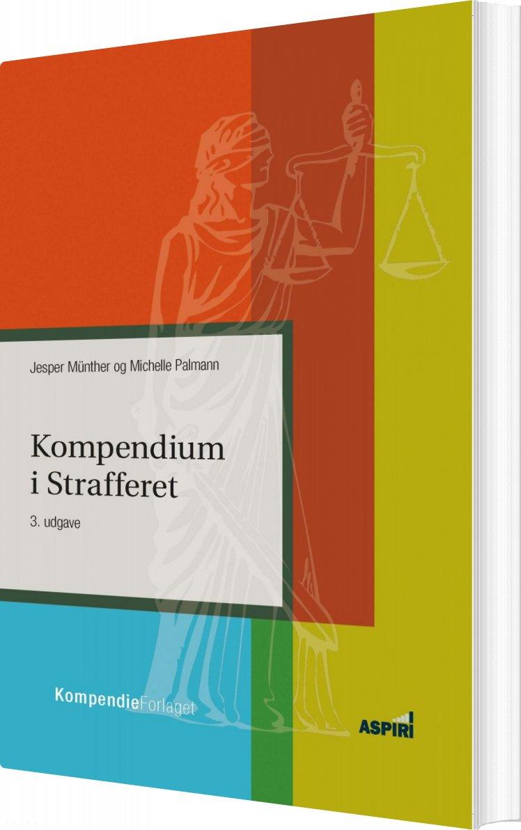 Image of   Kompendium I Strafferet,3.udgave - Jesper Münther - Bog
