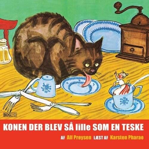 Image of   Konen Der Blev Så Lille Som En Teske - Alf Prøysen - Cd Lydbog