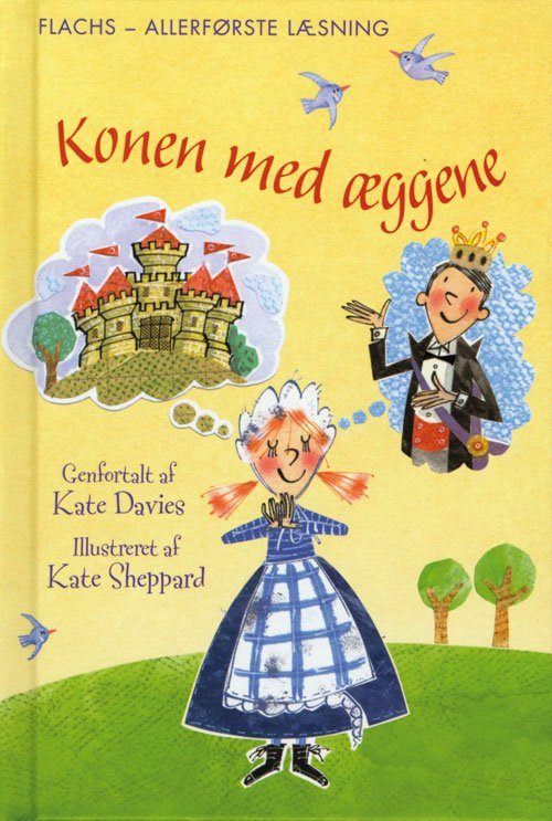 Image of   Konen Med æggene - Kate Davies - Bog