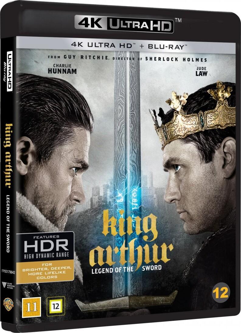 Image of   King Arthur: Legend Of The Sword / Kong Arthur: Legenden Om Sværdet - 4K Blu-Ray