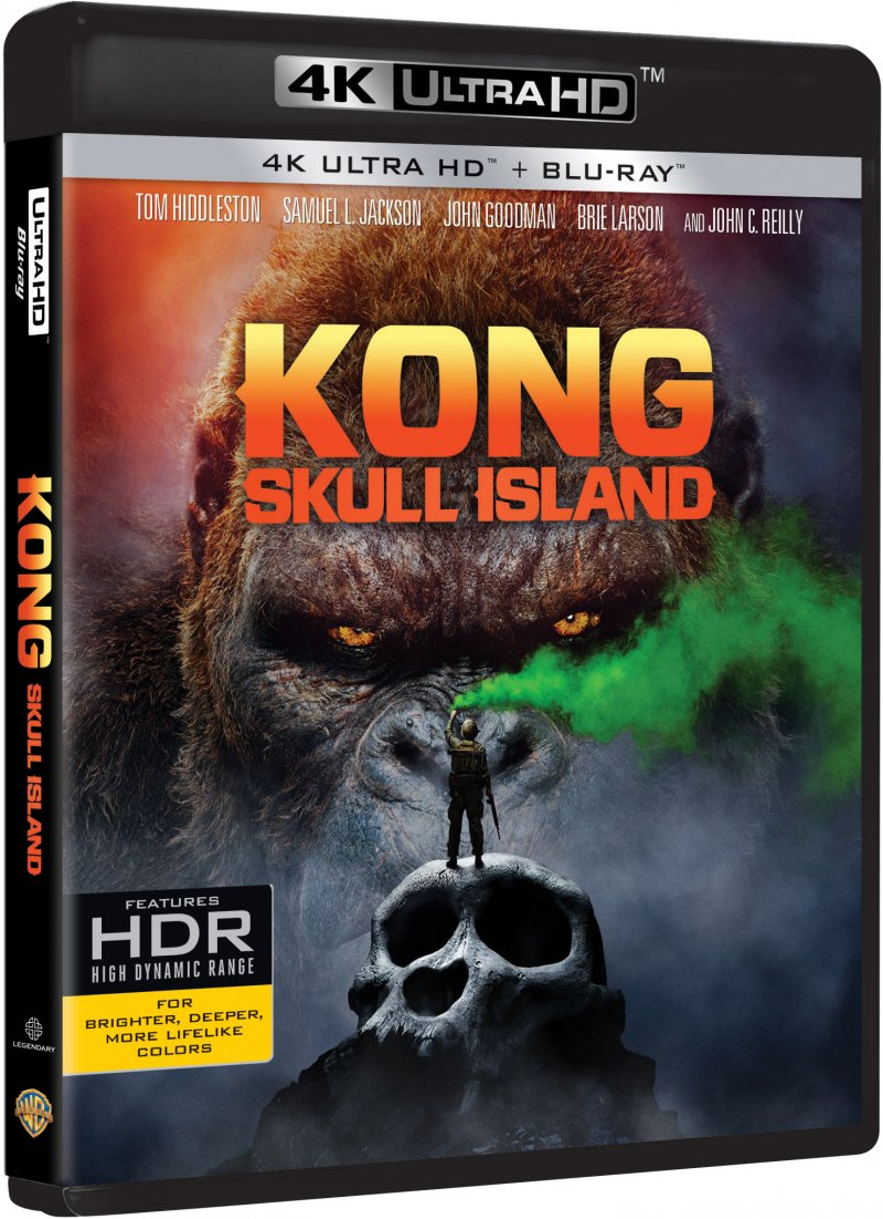 Image of   Kong: Skull Island - 4K Blu-Ray