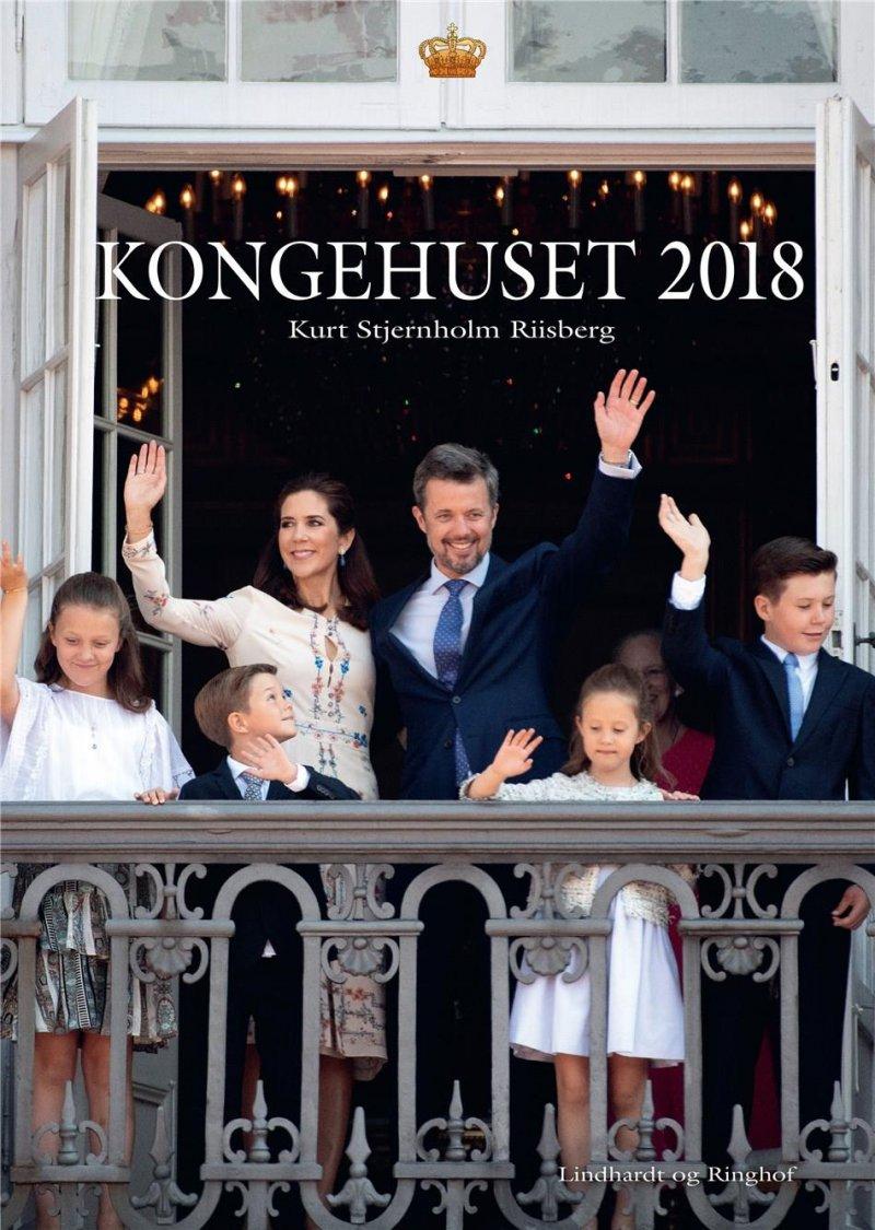 Image of   Kongehuset 2018 - Kurt Stjernholm Riisberg - Bog