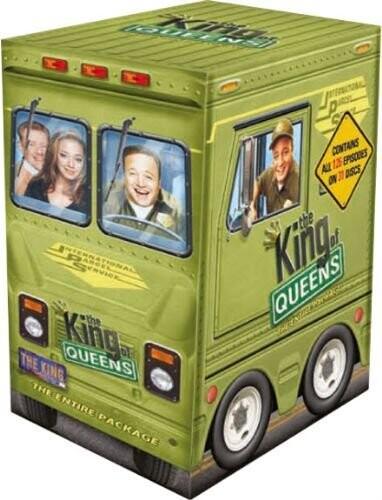 Kongen Af Queens Box - Den Komplette Serie - DVD - Tv-serie