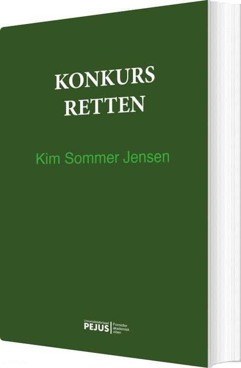 Konkursretten - Kim Sommer Jensen - Bog
