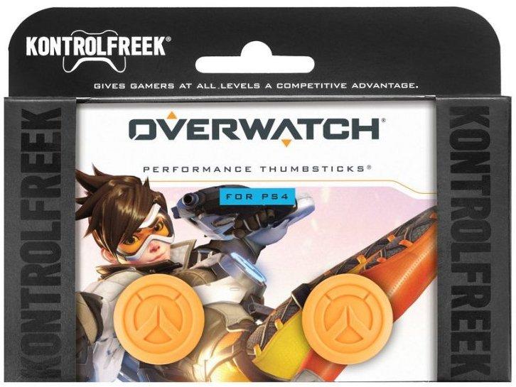 Image of   Kontrolfreek Overwatch Performance Thumbsticks Til Ps4 I Orange