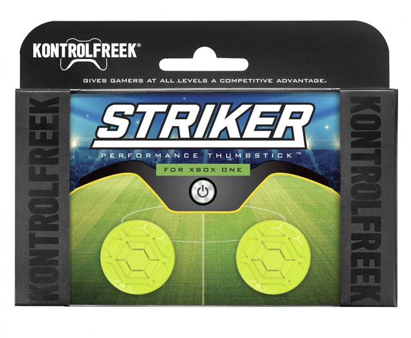 Image of   Kontrolfreek Striker - Performance Thumbsticks - Grips Til Xbox One I Gul