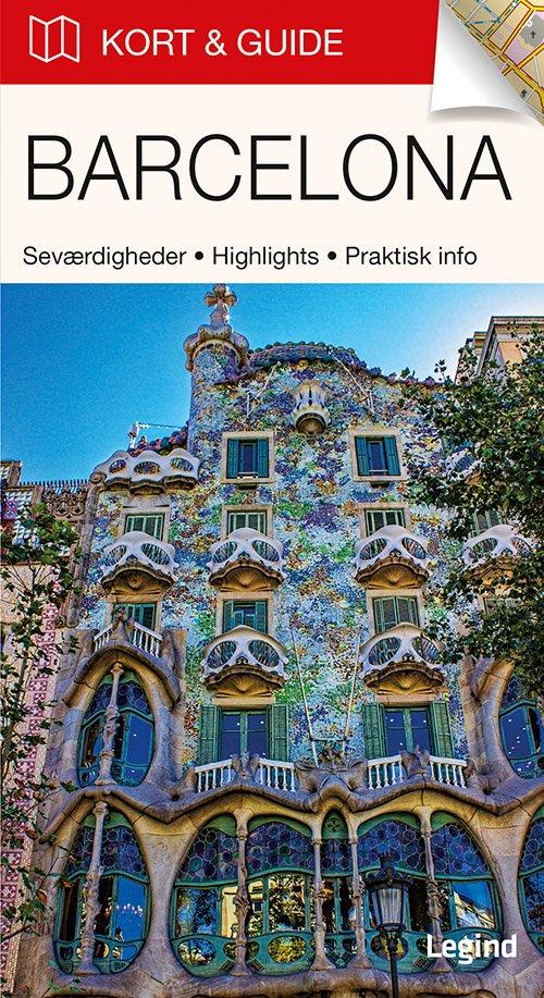 Billede af Kort & Guide - Barcelona - Eva Tangø-brandt - Bog