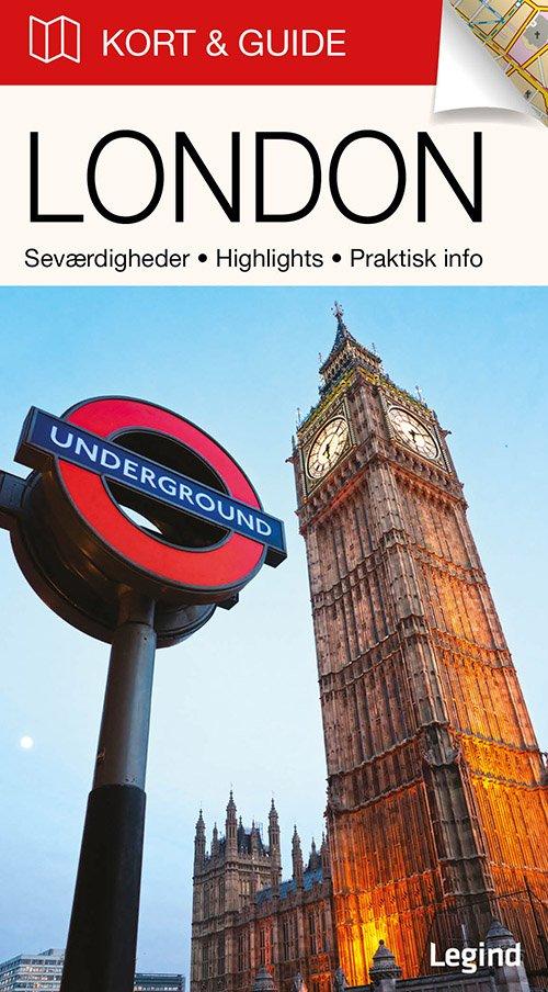 Billede af Kort & Guide - London - Eva Tangø-brandt - Bog