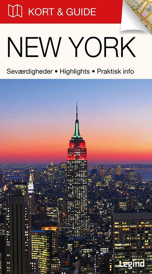 Billede af Kort & Guide - New York - Eva Tangø-brandt - Bog