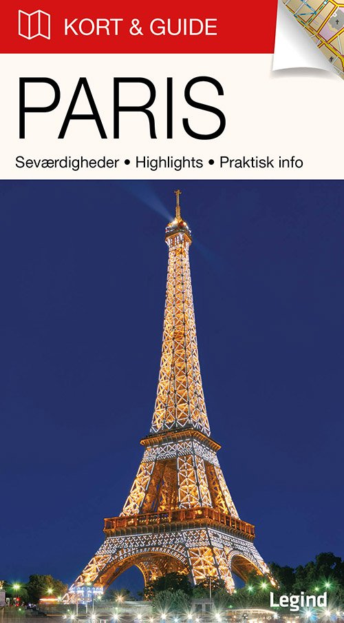 Billede af Kort & Guide - Paris - Eva Tangø-brandt - Bog