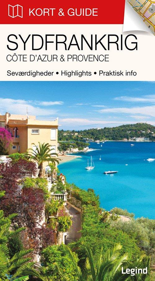 Kort & Guide - Sydfrankrig: Côte Dazur & Provence - Eva Tangø-brandt - Bog