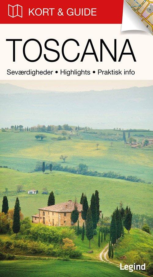 Billede af Kort & Guide - Toscana - Eva Tangø-brandt - Bog