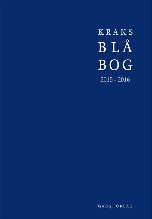 Image of   Kraks Blå Bog 2015-2016 - Bog
