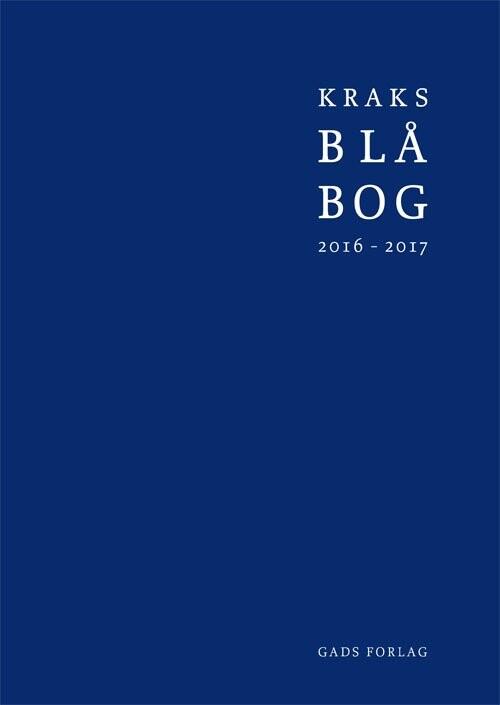 Kraks Blå Bog 2016-2017 - Bog