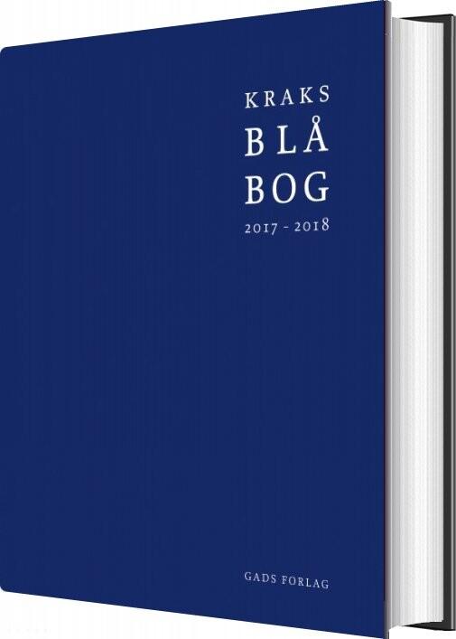 Image of   Kraks Blå Bog 2017-2018 - Diverse - Bog