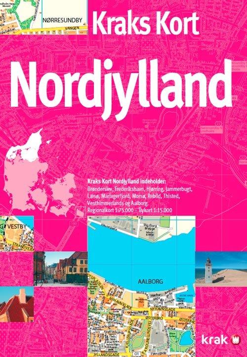 Kraks Kort Nordjylland - Diverse - Bog