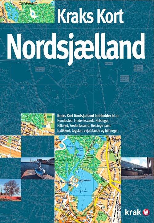 Billede af Kraks Kort Nordsjælland - Bog