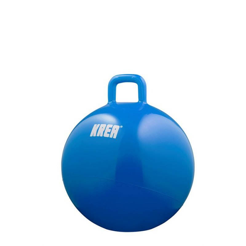 Krea Hoppebold Inkl. Pumpe - 45cm - Blå