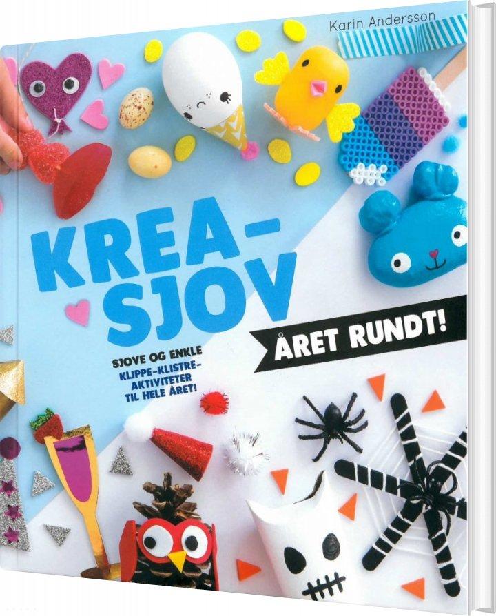 Billede af Krea-sjov året Rundt! - Karin Andersson - Bog