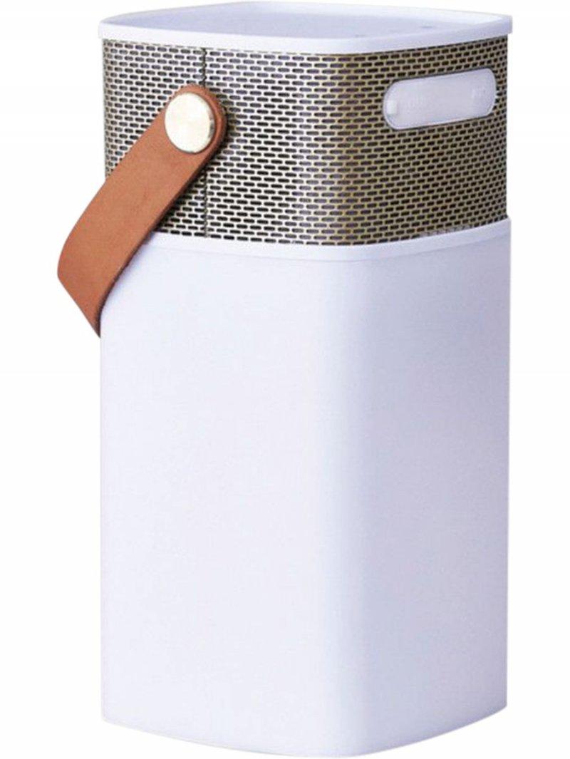 Kreafunk Aglow Bluetooth Højtaler - Hvid/guld