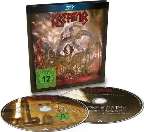 Image of   Kreator Gods Of Violence (cd+blu Ray) - Blu-Ray