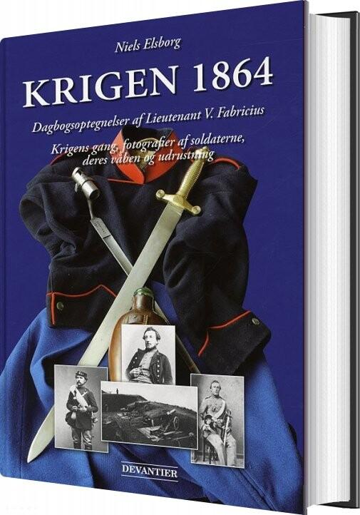 Krigen 1864 - Niels Elsborg - Bog