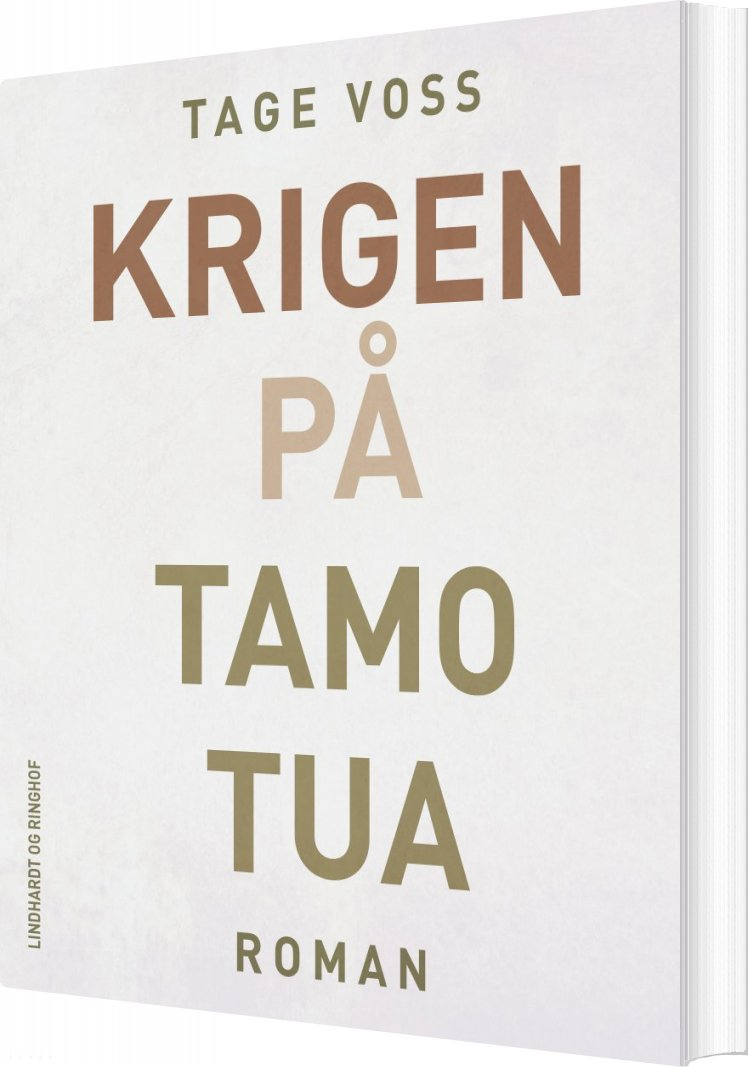 Image of   Krigen På Tamotua - Tage Voss - Bog