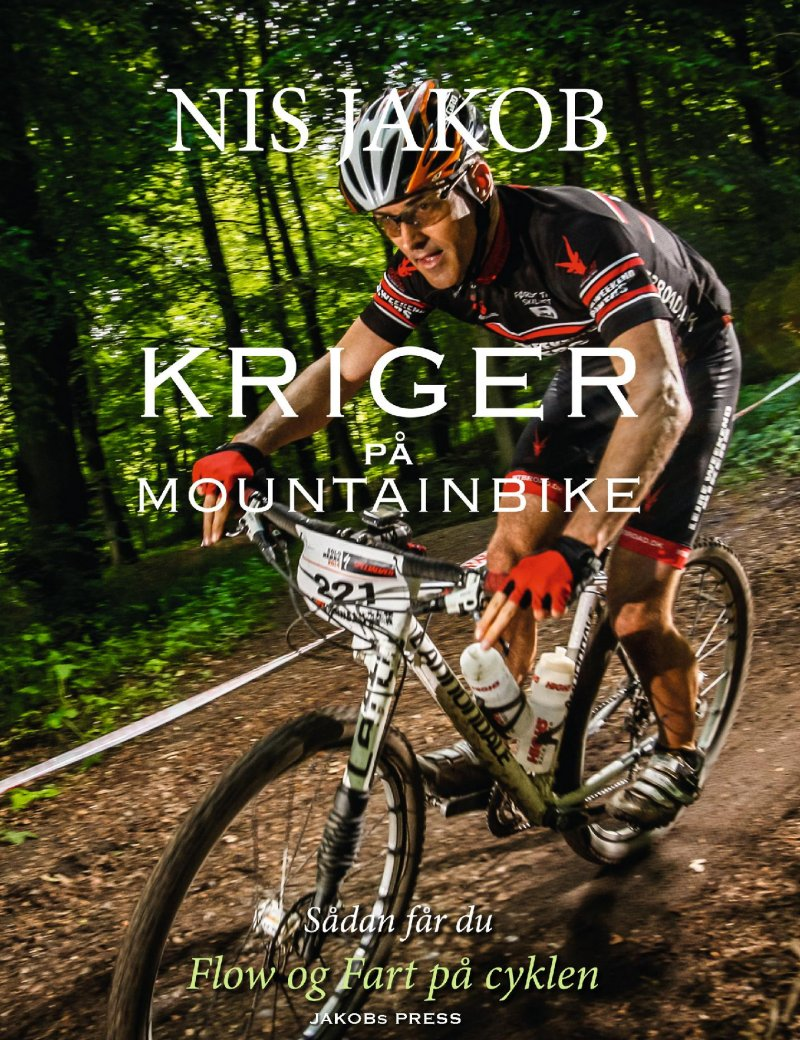 Billede af Kriger På Mountainbike - Nis Jakob - Bog