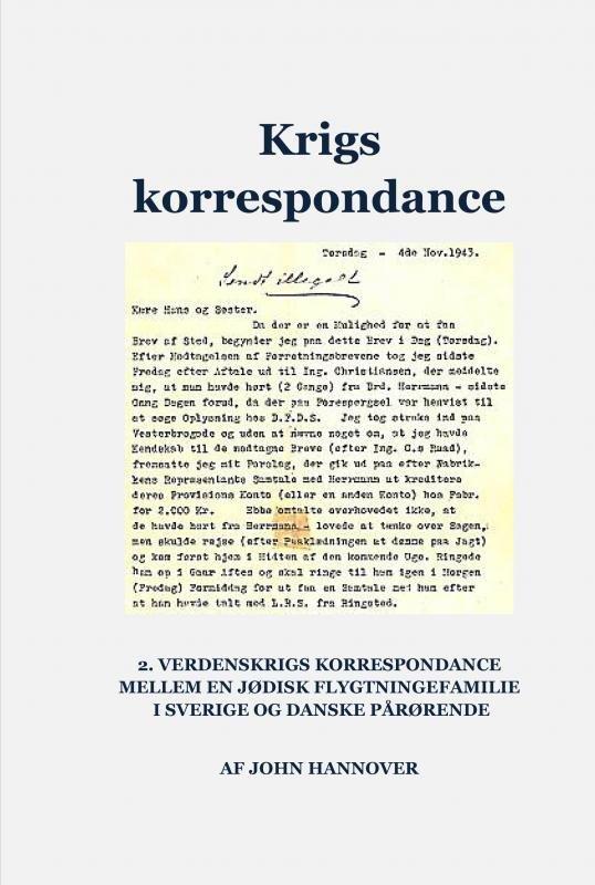 Image of   Krigskorrespondance - John Hannover - Bog
