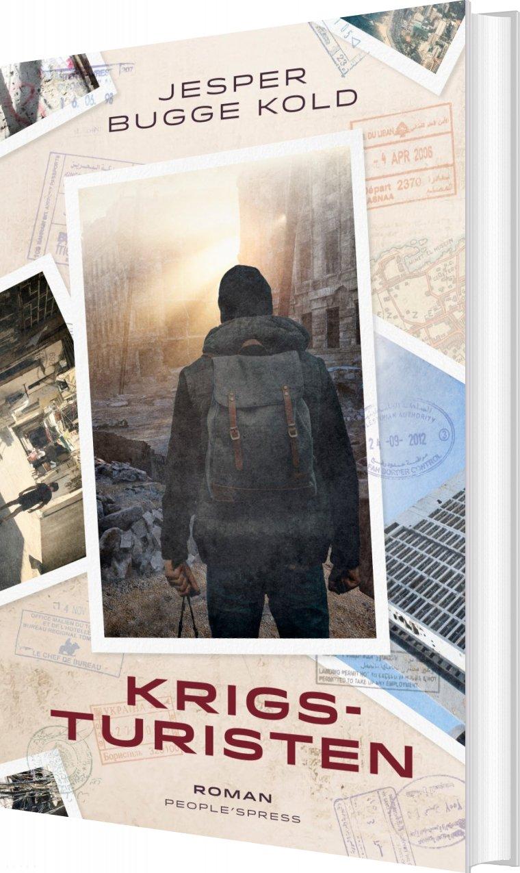 Krigsturisten - Jesper Bugge Kold - Bog