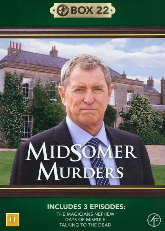 Image of   Kriminalkommissær Barnaby / Midsomer Murders - Box 22 - DVD - Tv-serie
