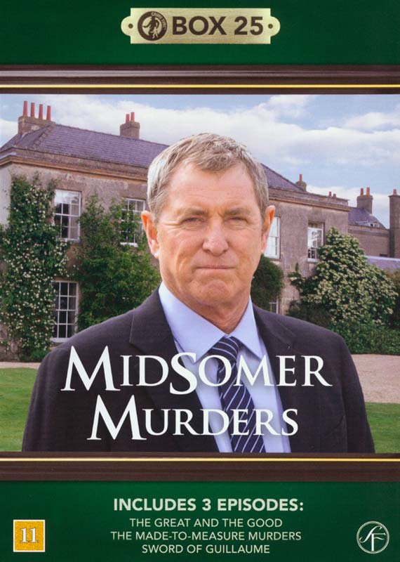 Image of   Kriminalkommissær Barnaby / Midsomer Murders - Box 25 - DVD - Tv-serie