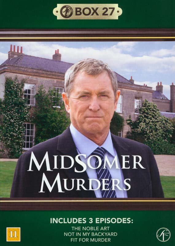 Image of   Kriminalkommissær Barnaby / Midsomer Murders - Box 27 - DVD - Tv-serie