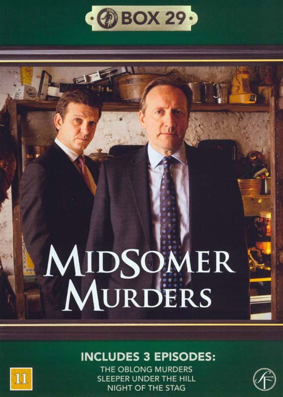 Image of   Kriminalkommissær Barnaby / Midsomer Murders - Box 29 - DVD - Tv-serie