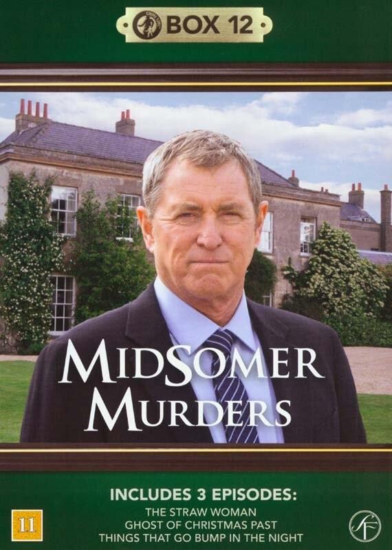 Image of   Kriminalkommissær Barnaby / Midsomer Murders - Box 12 - DVD - Tv-serie