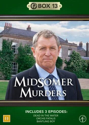 Image of   Kriminalkommissær Barnaby / Midsomer Murders - Box 13 - DVD - Tv-serie