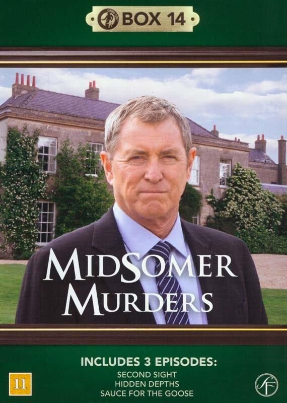Image of   Kriminalkommissær Barnaby / Midsomer Murders - Box 14 - DVD - Tv-serie