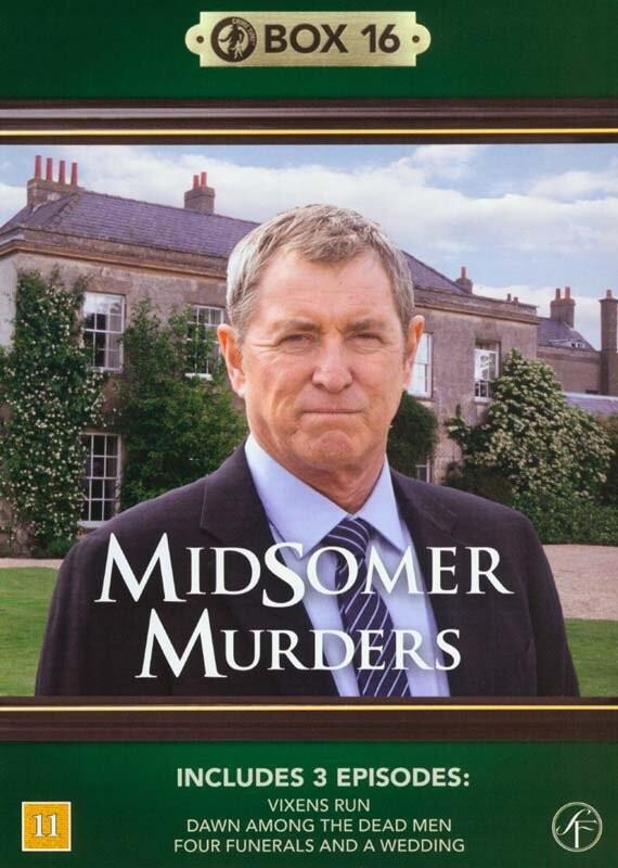 Image of   Kriminalkommissær Barnaby / Midsomer Murders - Box 16 - DVD - Tv-serie