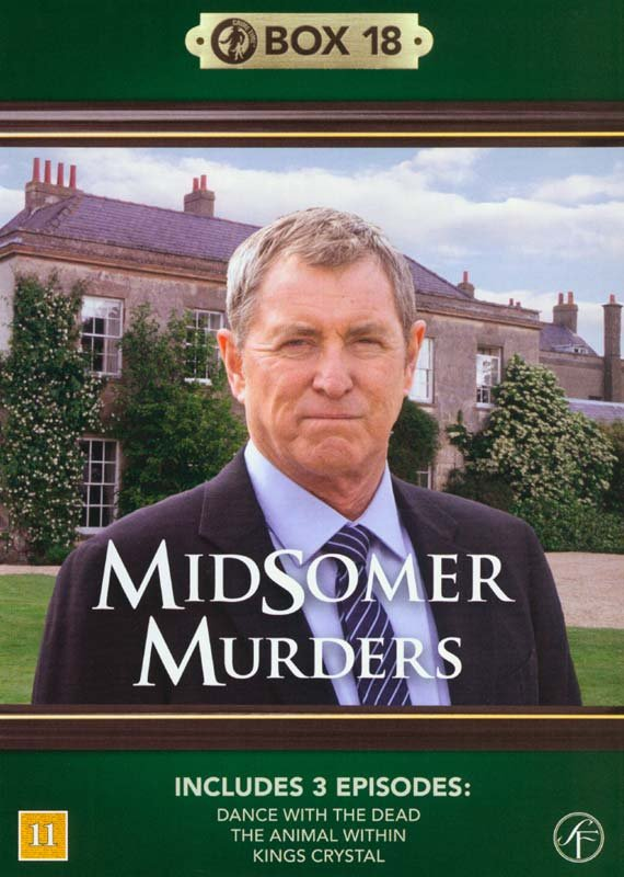 Image of   Kriminalkommissær Barnaby / Midsomer Murders - Box 18 - DVD - Tv-serie
