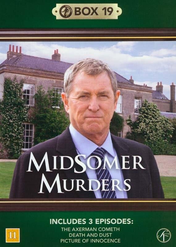 Image of   Kriminalkommissær Barnaby / Midsomer Murders - Box 19 - DVD - Tv-serie