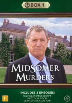 Image of   Kriminalkommissær Barnaby / Midsomer Murders - Box 1 - DVD - Tv-serie
